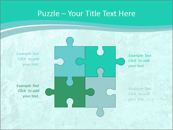 Mint abstract PowerPoint Template - Slide 43