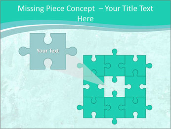 Mint abstract PowerPoint Template - Slide 45