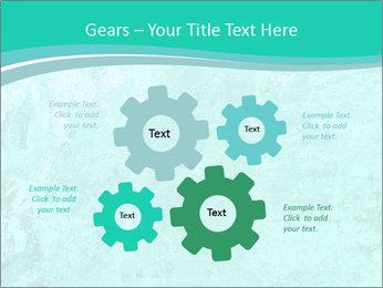 Mint abstract PowerPoint Template - Slide 47
