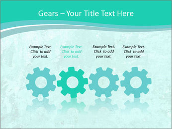 Mint abstract PowerPoint Template - Slide 48