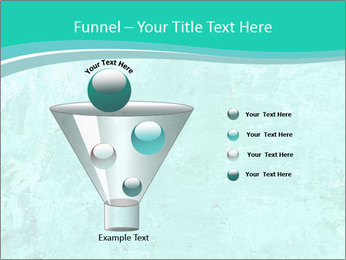 Mint abstract PowerPoint Template - Slide 63