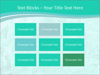 Mint abstract PowerPoint Template - Slide 68