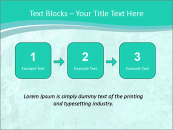 Mint abstract PowerPoint Template - Slide 71