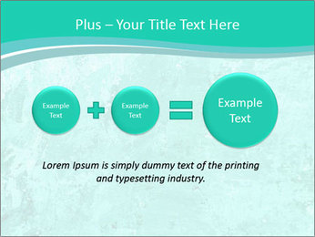 Mint abstract PowerPoint Template - Slide 75