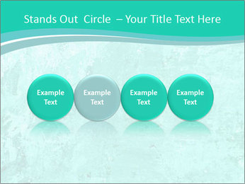 Mint abstract PowerPoint Template - Slide 76