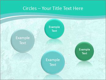 Mint abstract PowerPoint Template - Slide 77
