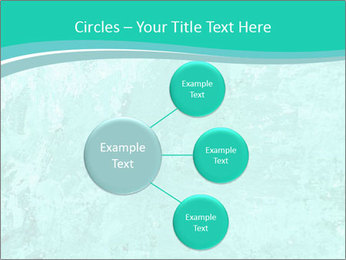 Mint abstract PowerPoint Template - Slide 79