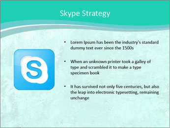 Mint abstract PowerPoint Template - Slide 8