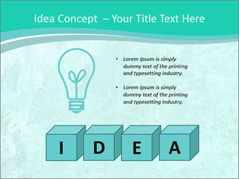 Mint abstract PowerPoint Template - Slide 80