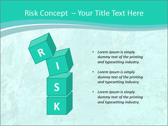 Mint abstract PowerPoint Template - Slide 81