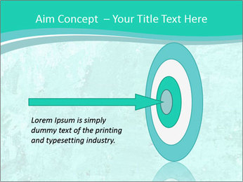 Mint abstract PowerPoint Template - Slide 83