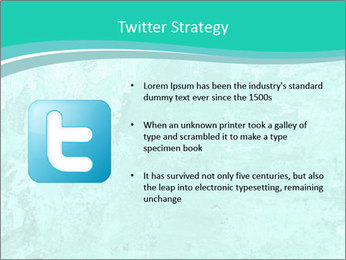 Mint abstract PowerPoint Template - Slide 9