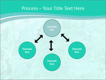 Mint abstract PowerPoint Template - Slide 91