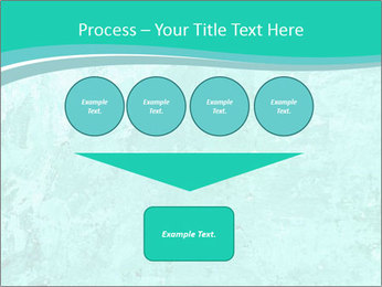 Mint abstract PowerPoint Template - Slide 93