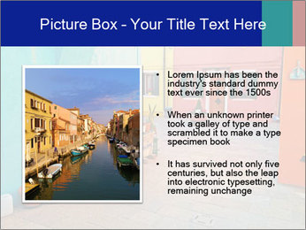 Colorful corner in Burano PowerPoint Templates - Slide 13