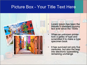 Colorful corner in Burano PowerPoint Templates - Slide 20