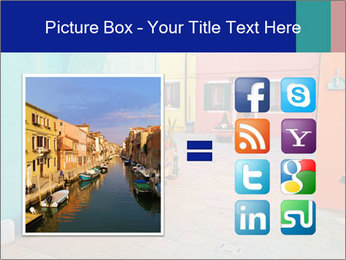 Colorful corner in Burano PowerPoint Templates - Slide 21