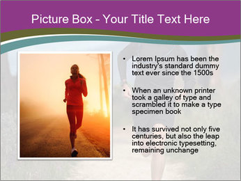Portrait of a trail runner PowerPoint Templates - Slide 13