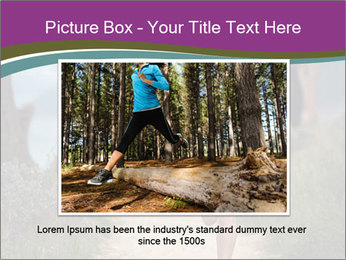 Portrait of a trail runner PowerPoint Templates - Slide 15