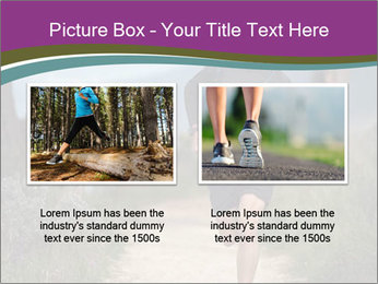 Portrait of a trail runner PowerPoint Templates - Slide 18