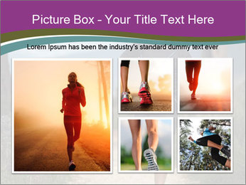 Portrait of a trail runner PowerPoint Templates - Slide 19
