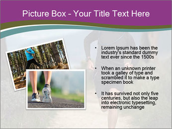 Portrait of a trail runner PowerPoint Templates - Slide 20
