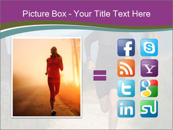 Portrait of a trail runner PowerPoint Templates - Slide 21