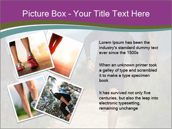 Portrait of a trail runner PowerPoint Templates - Slide 23