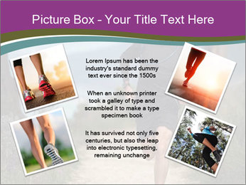 Portrait of a trail runner PowerPoint Templates - Slide 24