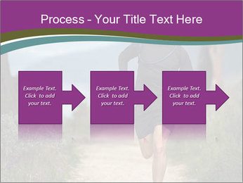Portrait of a trail runner PowerPoint Templates - Slide 88
