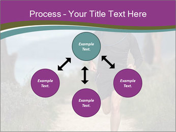 Portrait of a trail runner PowerPoint Templates - Slide 91
