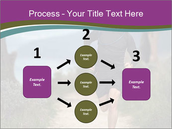 Portrait of a trail runner PowerPoint Templates - Slide 92