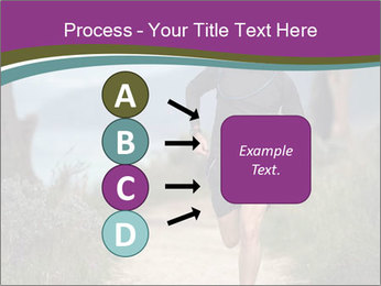 Portrait of a trail runner PowerPoint Templates - Slide 94