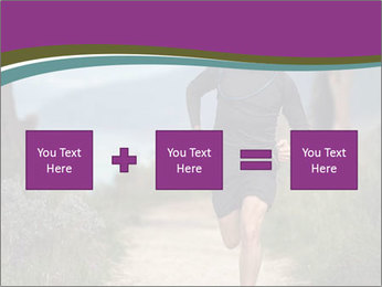 Portrait of a trail runner PowerPoint Templates - Slide 95