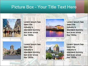 The historic district of Old Quebec PowerPoint Template - Slide 14