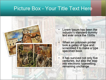 The historic district of Old Quebec PowerPoint Template - Slide 20