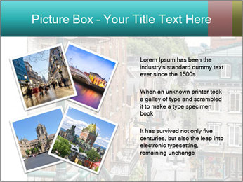 The historic district of Old Quebec PowerPoint Template - Slide 23