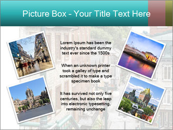 The historic district of Old Quebec PowerPoint Template - Slide 24