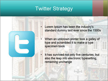 The historic district of Old Quebec PowerPoint Template - Slide 9