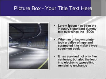 The tunnel at night PowerPoint Templates - Slide 13