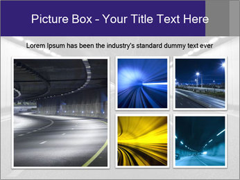 The tunnel at night PowerPoint Templates - Slide 19