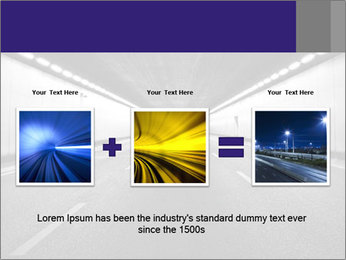 The tunnel at night PowerPoint Templates - Slide 22