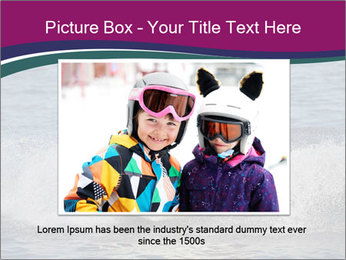 Happy smiling caucasian couple riding jet ski PowerPoint Templates - Slide 16