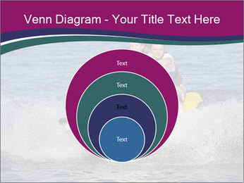 Happy smiling caucasian couple riding jet ski PowerPoint Template - Slide 34