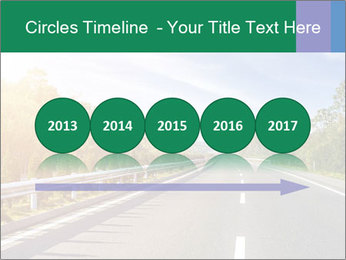 Newly built highway PowerPoint Template - Slide 29