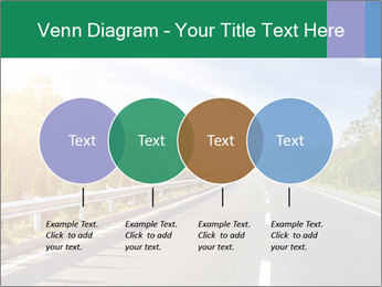Newly built highway PowerPoint Template - Slide 32