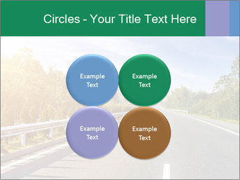 Newly built highway PowerPoint Template - Slide 38