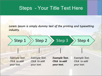 Newly built highway PowerPoint Template - Slide 4