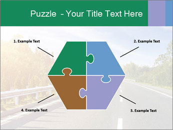 Newly built highway PowerPoint Template - Slide 40