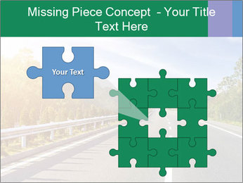Newly built highway PowerPoint Templates - Slide 45